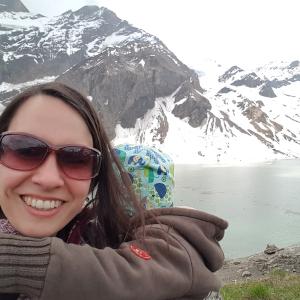 Jenna - mit meinem Kind in den Bergen
