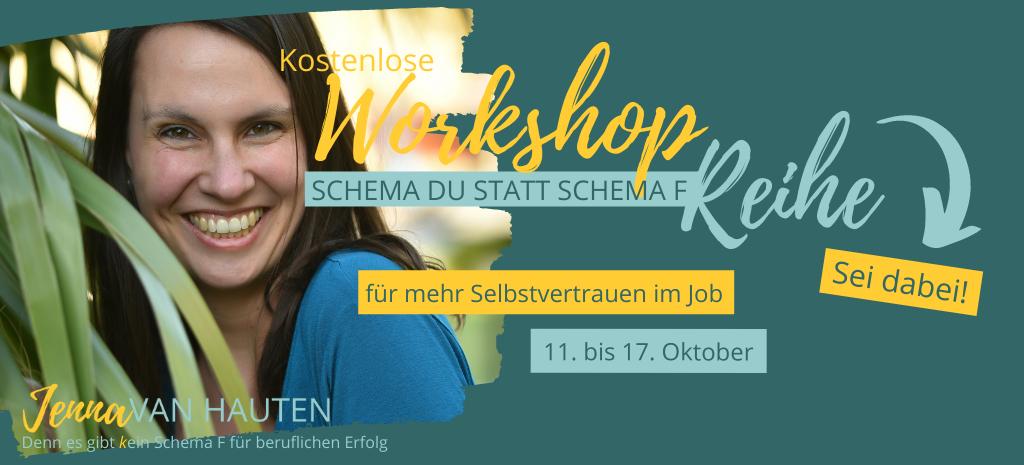 Workshop-Reihe für mehr Selbstbewusstsein i Job